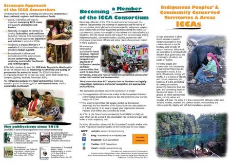 ICCA Consortium leaflet