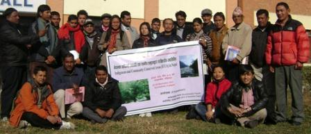 Third National Gathering of the Nepal's Network of ICCAs, Kathmandu, Nepal, 22-24 December 2011