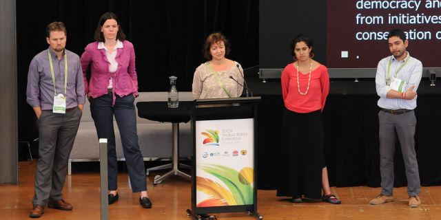 The Stream leaders at the Closing Plenary