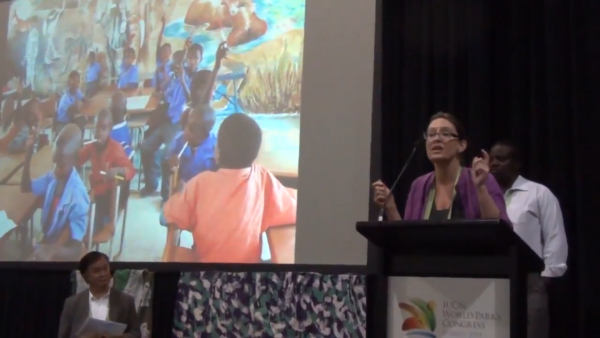 The Heart of a Stream – Movies – Part 2 – A stream on governance at the Sydney Parks Congress 2014