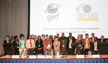 49th Meeting of the GEF Council and Consultation with Civil Society Organisations (Washington DC, 2015)