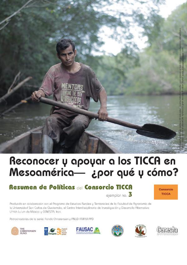Resumen de Políticas del Consorcio TICCA, No. 3