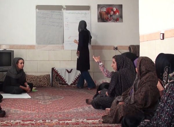 Capacity Building with Takab community women in Iran