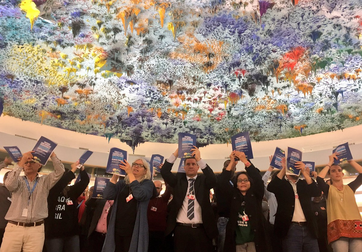The call for a Binding Treaty to stop corporate impunity