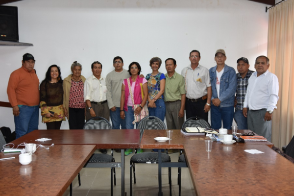 Organization of the ICCA Bolivia Consortium