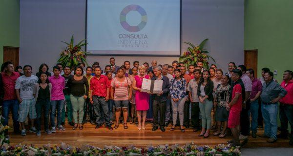Costa Rica firma Mecanismo General de Consulta a Pueblos Indígenas