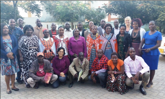 Community views on CCRI during a national workshop in Narok, Kenya
