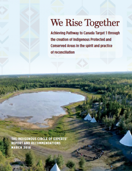 Launch of Indigenous Circle of Experts Report in Canada: We Rise Together
