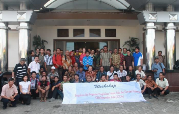 ICCAs as an advocacy avenue for customary forest rights in Indonesia