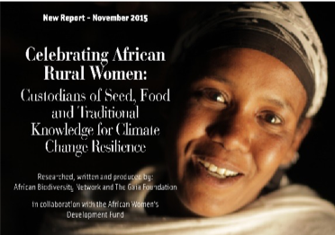 Celebrating African Rural Women: Custodians of Seed, Food & Traditional Knowledge for Climate Change Resilience