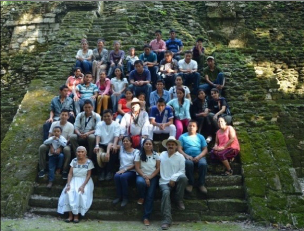 Itzá Maya youth– weavers of the future