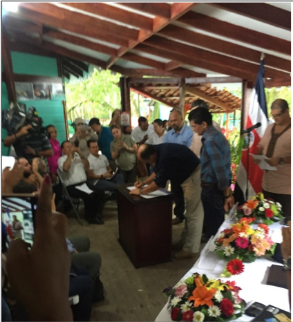 Costa Rica reconoce los cuatro modelos de gobernanza de áreas protegidas– un paso fundamental para la conservación y el respeto de los derechos humanos!