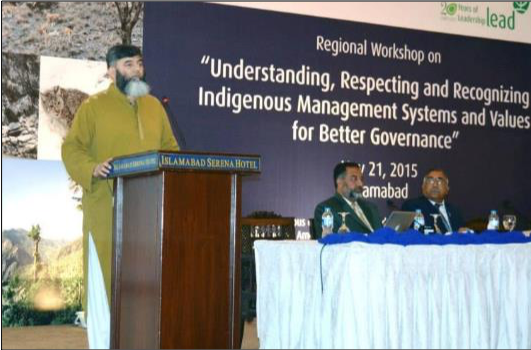 Regional workshop on ICCAs in Pakistan
