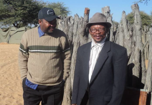 The San community from Ranyane (Botswana) wins a court case