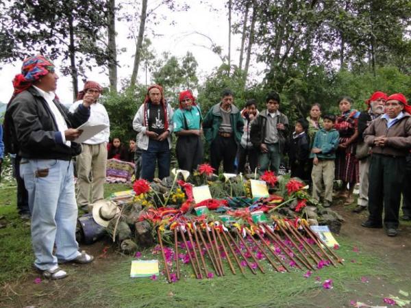 Procesos de organización del Consorcio Territorios y Areas Conservadas por pueblos indígenas en Guatemala