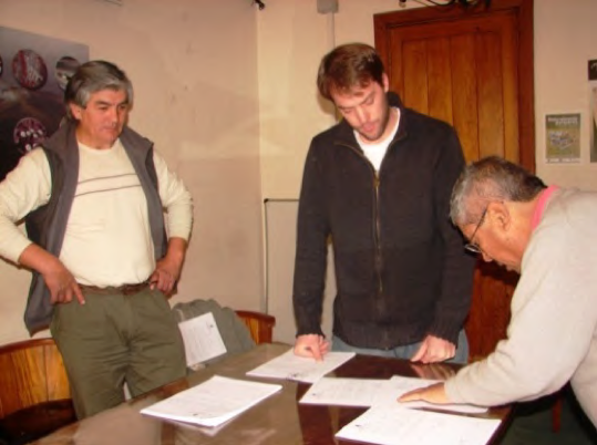 The formalization of the establishment of the Intercultural Council of Co-management within the Nahuel Huapi National Park, Argentina, led by Jorge Nahuel's advocacy team of the Confederación Mapuche de Neuquén