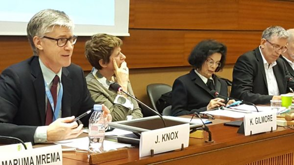 ICCA Consortium Attends Launch of UN Environmental Rights Initiative in Geneva