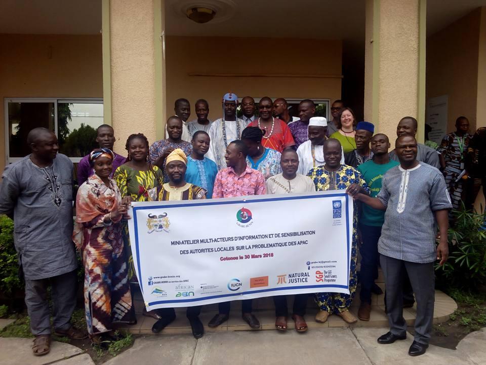 Les gardiens d'APAC du Bénin renforcent la coopération pour faire face aux pressions