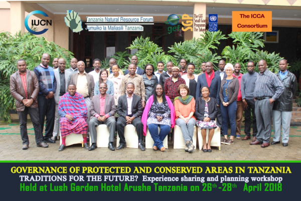 Supporting and strengthening ICCAs in Tanzania: Third national governance workshop held in Arusha