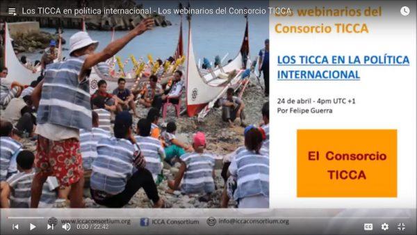 Los TICCA en política internacional – Los webinarios del Consorcio TICCA