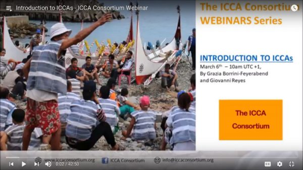 Introduction to ICCAs – ICCA Consortium Webinar