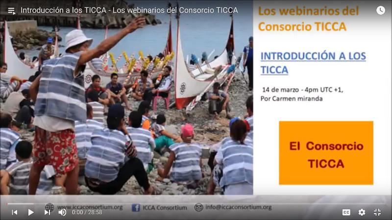 Introducción a los TICCA – Los webinarios del Consorcio TICCA
