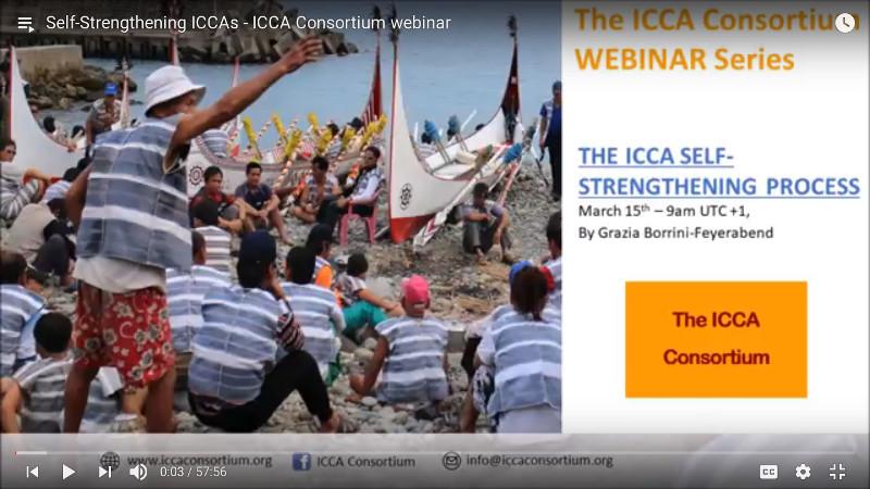 Self-Strengthening ICCAs – ICCA Consortium webinar