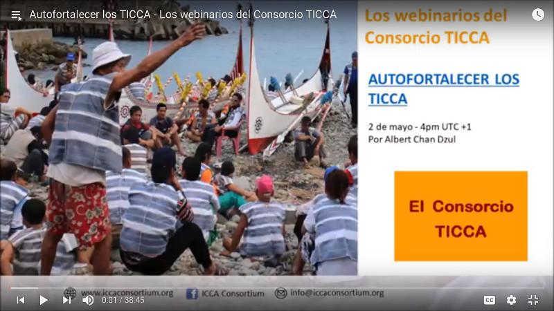Autofortalecer los TICCA – Los webinarios del Consorcio TICCA