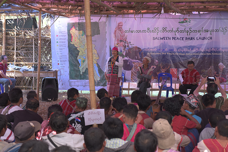 Karen indigenous communities in Myanmar have officially launched the Salween Peace Park