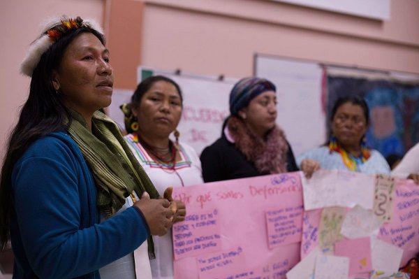 Tejiendo lazos entre territorios: Encuentro Latinoamericano de Defensoras