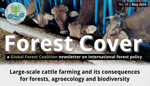 Forest Cover 58 – newsletter from the Global Forest Coalition