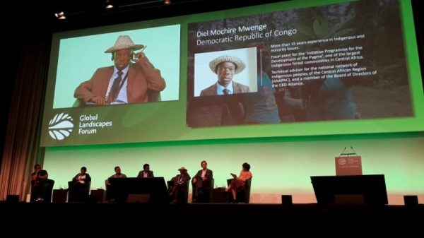 "Meet the Defenders: Panel Discussion on ""Defending Nature Together"" at Global Landscapes Forum"