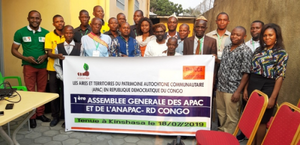 1ère Assemblée Générale des APAC et de l'ANAPAC –RDCONGO