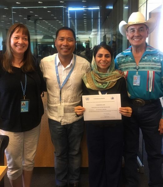 Council Member Selected for Prestigious OHCHR Indigenous Fellowship Programme