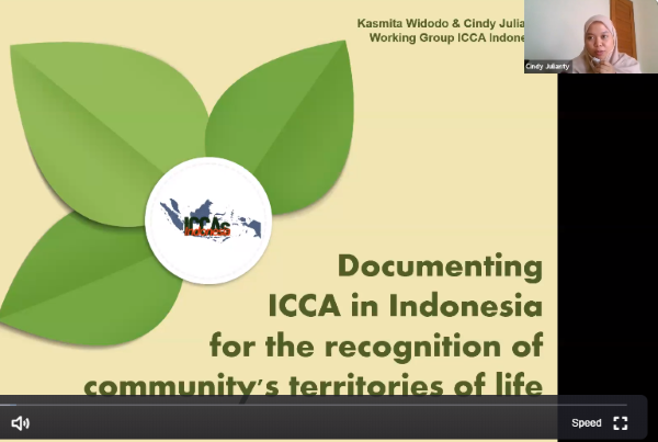 Enhancing the Sharing of Knowledge and Experiences on ICCAs in South East Asia through Webinars