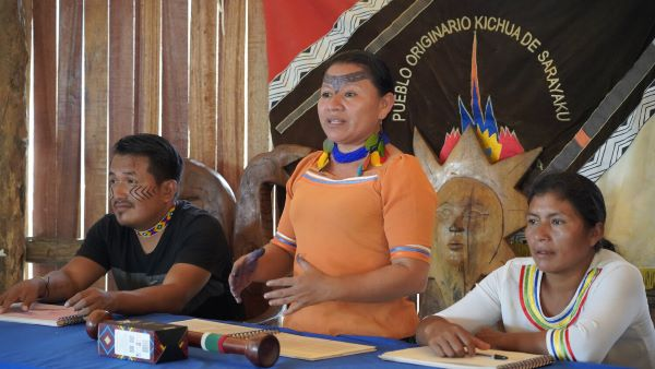 ¡El Pueblo Originario de Sarayaku Registró su Territorio de Vida!