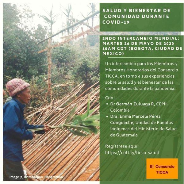 Intercambios Internacionales sobre Territorios de Vida, Salud y Bienestar Comunitarios Durante la Pandemia de COVID-19