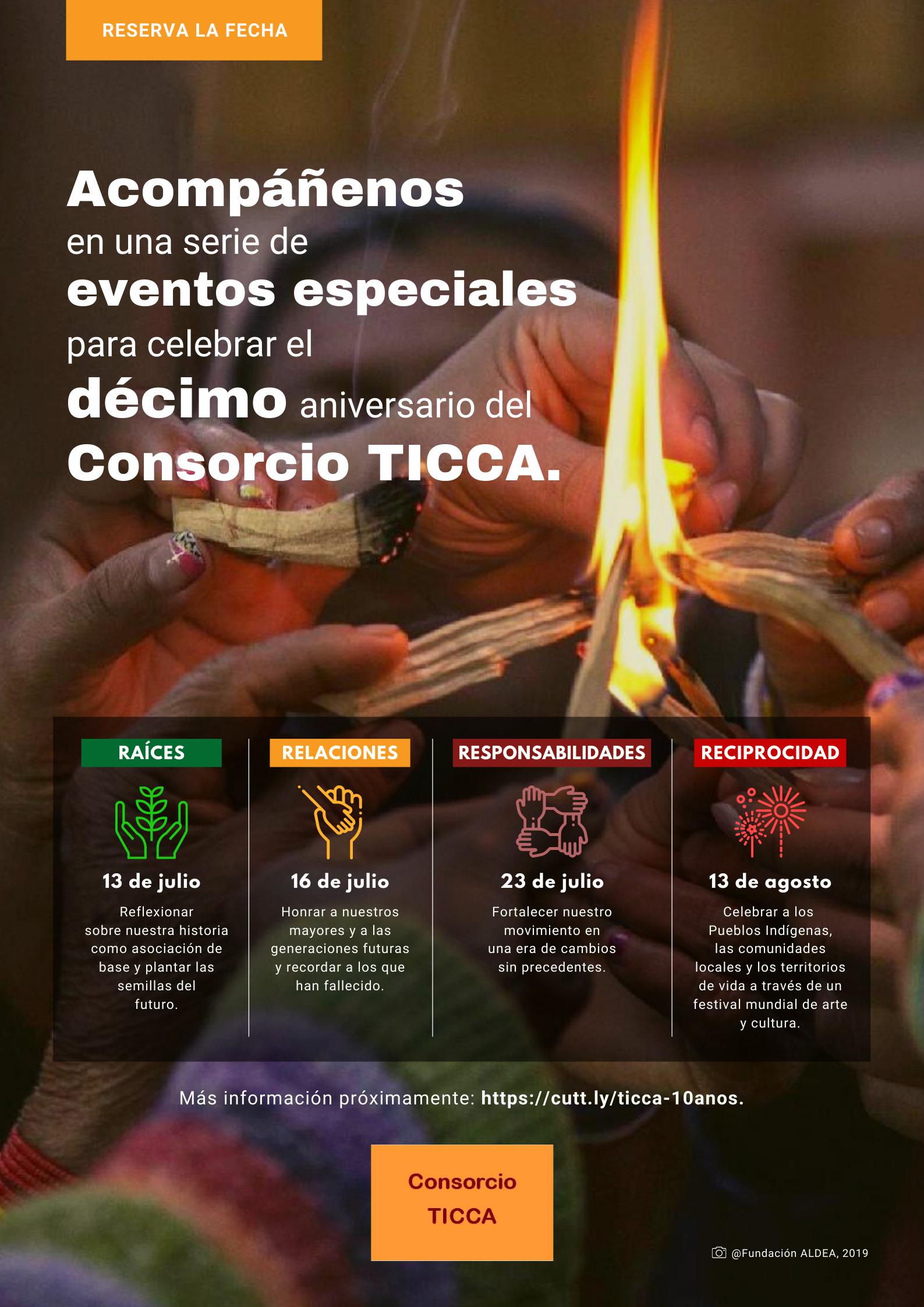 Celebrando el Décimo Aniversario del Consorcio TICCA