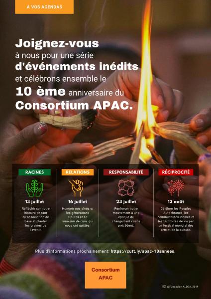 Célébration du 10e Anniversaire du Consortium APAC