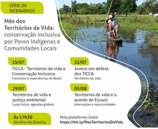 "A ""Territories of Life Month"" in Brazil!"