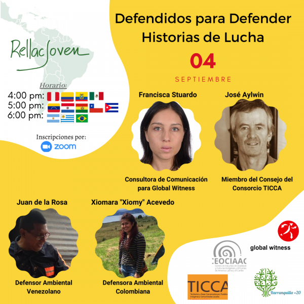 The role of the youth in defending the environmental defenders
