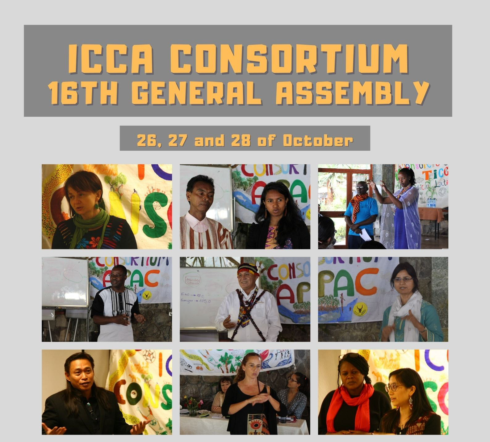 16a Asamblea General celebrada en línea