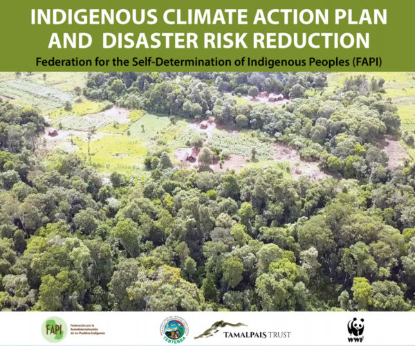 Paraguay's Indigenous peoples deliver Climate Action and Disaster Risk Reduction Plan