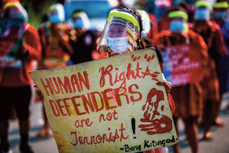 Global reports: Indigenous peoples and communities are among the most at risk for defending their lands and territories and the environment