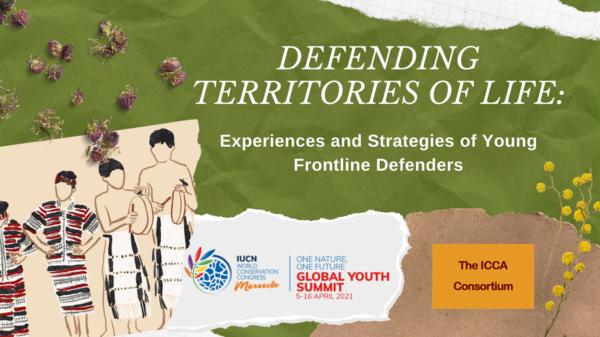 Histoires intergénérationelles de défense des territoires de vie partagées lors du Sommet mondial des jeunes de l'UICN