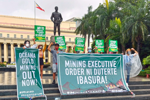Earth Defenders unite in solidarity against catastrophic mining expansions