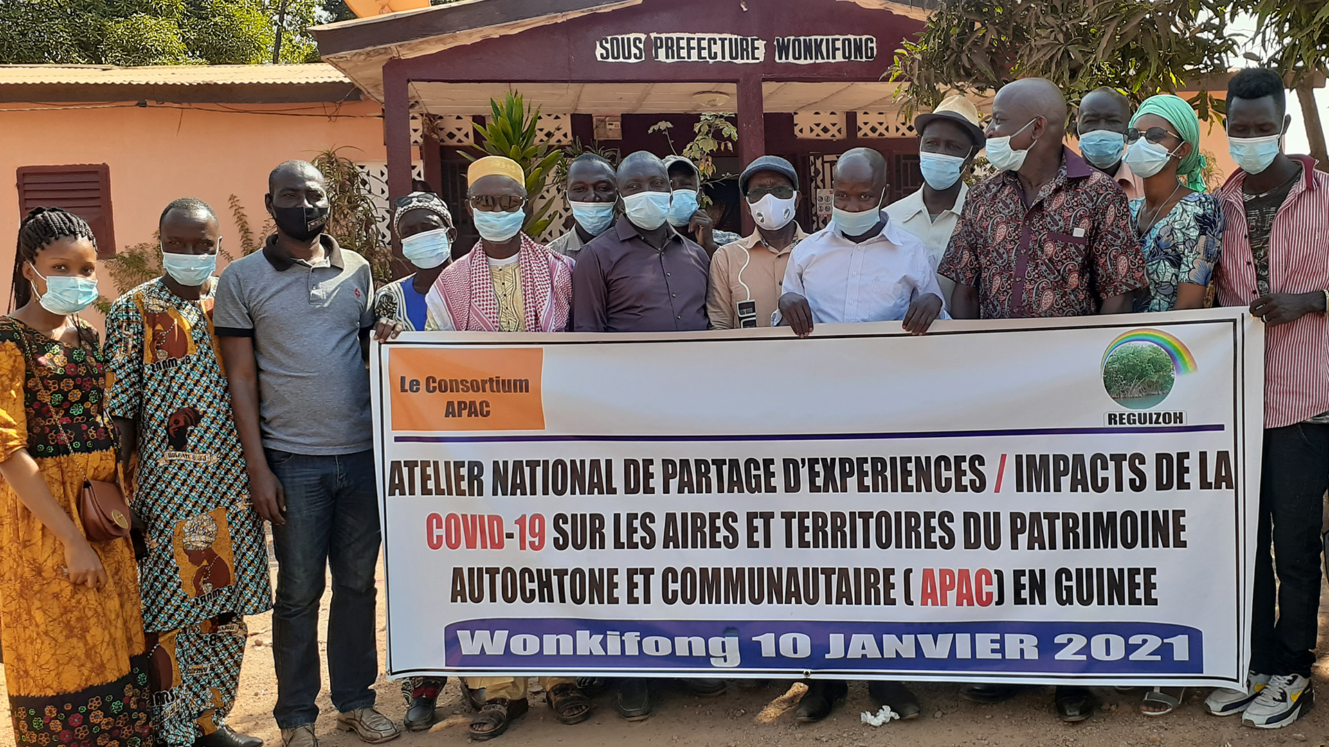 Community experiences with COVID-19 in French-speaking Africa