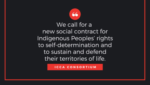 International Day of the World's Indigenous Peoples: Statement by the ICCA Consortium